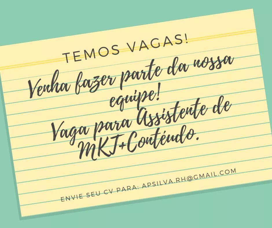 TRANSEMPREGOS DIVULGA:  Procura profissional TRANS para atuar em empresa de economia criativa na área de entretenimento na cidade de São Paulo. - Assistente de Marketing Jr (Vaga Confidencial)