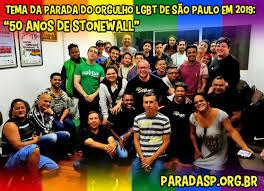 50 anos de Stonewall - Tema da Parada Gay