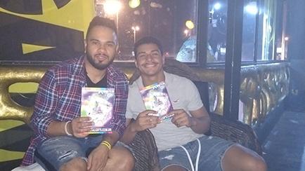 Dia 16/6/2019 Lançamento do guia LGBTS 12ª edição  Festa da Gambiarra no Open bar Club para o público LGBT