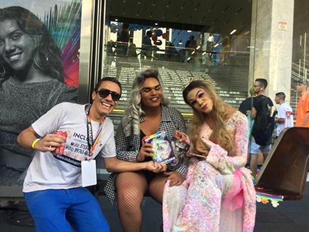 PARADA LGBT 23 EDIÇÃO SÃO PAULO-ANO 2019