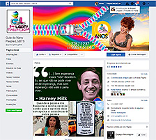 Página do Guia LGBTS no Facebook